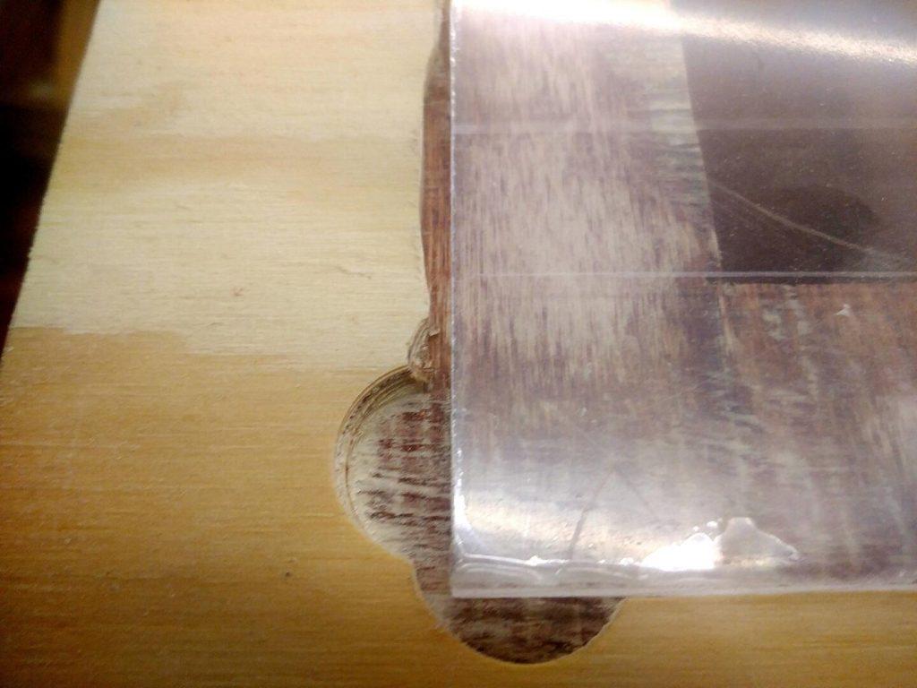 Plexisglasscheibeneinsatz